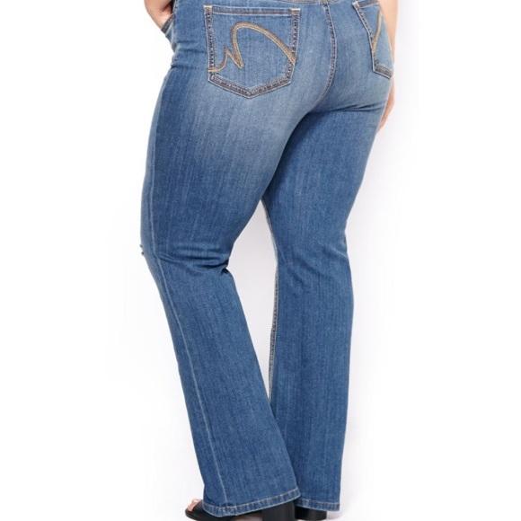 82992d7740c Melissa McCarthy Seven7 Slim Boot Jeans